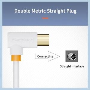 Image 3 - CABLETIME TV Kabel 90 grad Digital TV Linie Satellite Antenne Hohe Qualität STB für HD Fernsehen Video Linie C317
