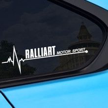 2 uds coche ventana pegatinas para Mitsubishi Ralliart Outlander 3 Lancer 10 3 9 EX ASX L200 Carisma Colt Pajero Auto Accesorios