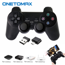 Gamepad Wireless PC Game Pad per PS3 telefono Android TV Box Joystick 2.4G Joypad Controller di gioco telecomando per Xiaomi OTG Smart Phone