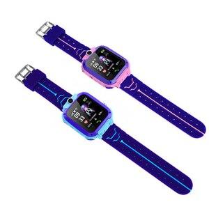 Image 5 - ילדי GPS חכם שעון בני Watch ילדה של שעון תכליתי ילדי דיגיטלי שעוני יד תינוק שעון טלפון עבור IOS אנדרואיד ילדים