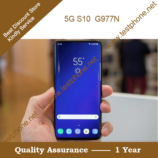 Free Shipping DHL + 5G Test Tools G977N 5G Handsets + Support 5G N78 , Testting