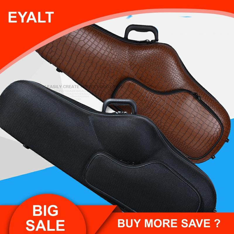 77cm Tenor Durable Alto Bb Saxophone Bag Sax Case Double Strap Box Hard Lightweight Light Body Hard Shell Tenor Carry Carring
