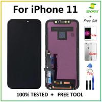 Aaa + + + qualidade para iphone 11 iphone11 tela lcd display de toque digitador assembléia para iphone11 oled oem display lcd|LCDs de celular| |  -