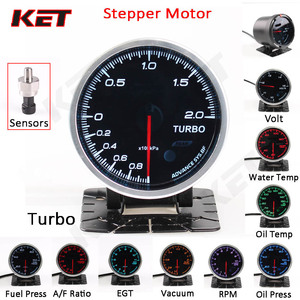 Defi Auto Gauge Meter Water temperature Oil Temperature Oil Pressure RPM Tachometer Vacuum Turbo Boost With Electronic Sensors(China)