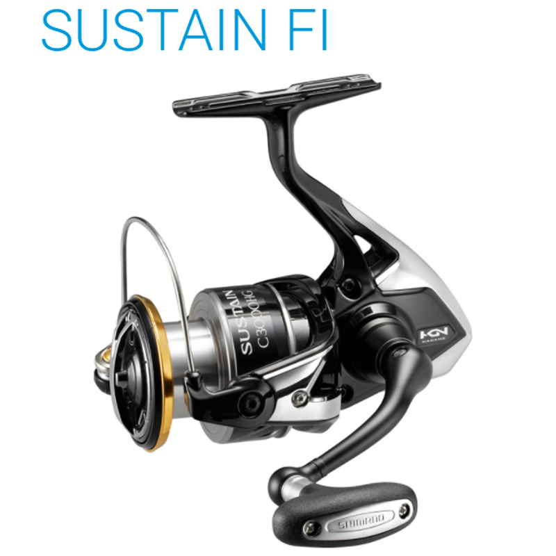 Original SHIMANO SUSTAIN FI 2500 2500HG <font><b>C3000HG</b></font> 3000XG 4000 4000XG C5000XG Fishing Reels 9kg SA-RB Saltwater fishing wheel image