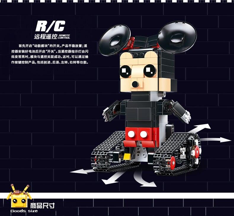MOULD KING  Technic Crawler robot Walking Building Block 17