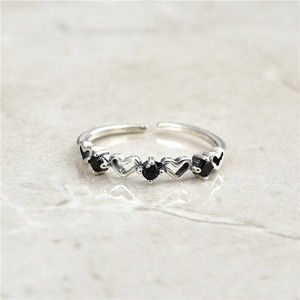 Image 2 - 2019 חם חדש סגנון 925 כסף סטרלינג stackable המפלגה טבעת דוגמניות מקורי מעודן תכשיטי מתנת תכשיטים