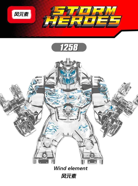 X1255-1258 dört eleman montaj blokları Terroir Spidermaning kahraman seferi kötü yetişkin çocuk hediye oyuncak