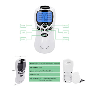 Image 3 - EMS Electric herald Tens masajeador para masaje corporal, máquina de acupuntura, electroestimulador de Estimulador muscular Digital, 8 modelos