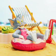 Blind Box Toys Tom Cat Jerry Mouse Toy Party Kawaii Dolls Cartoon Animal Cats Guess Bag Cute Animal Model for Kids Birthday Gift