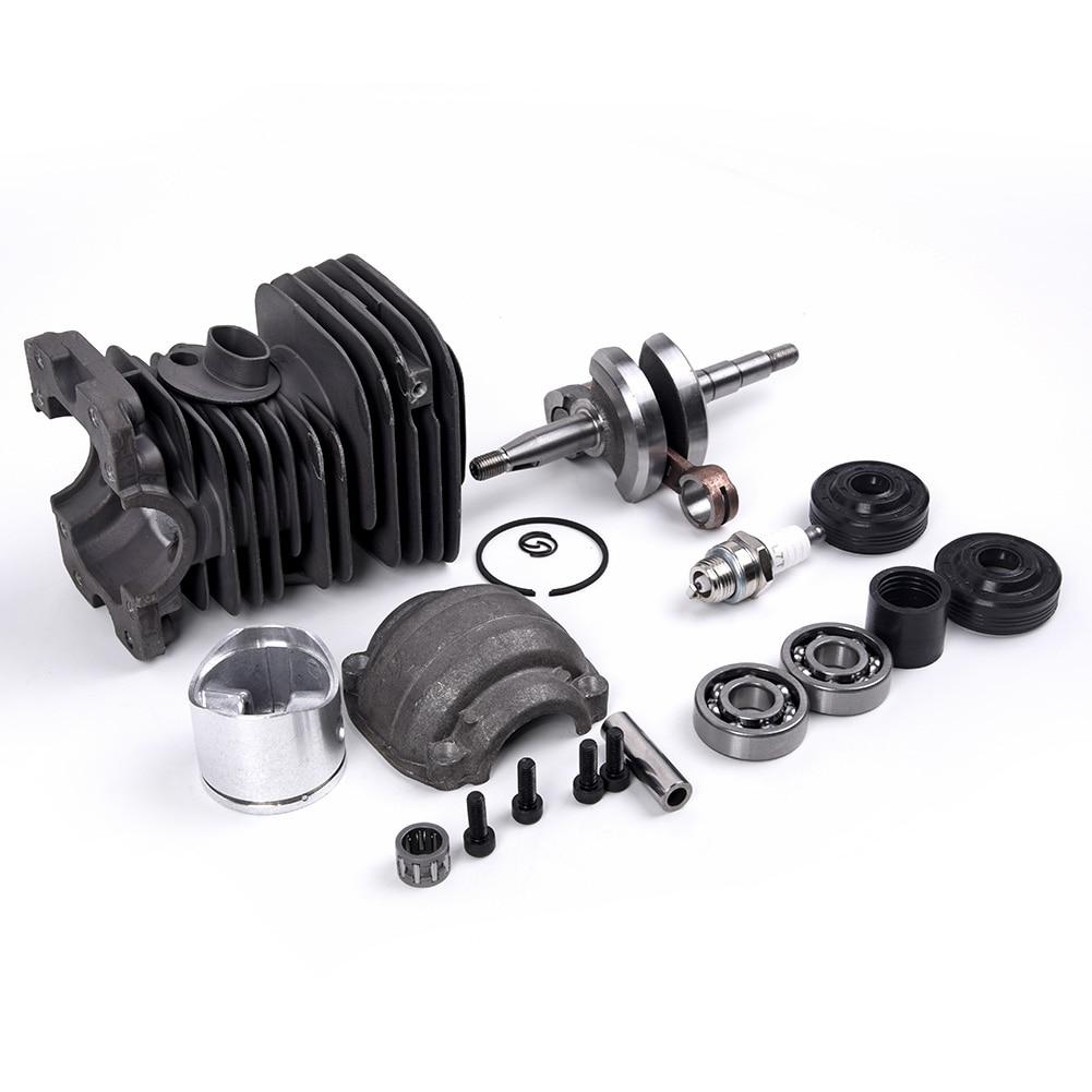 Piston Cylinder Bearing Seals Crank 40mm Set For HUSQVARNA 136 /137 /141 /142