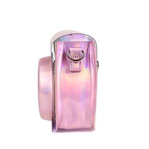 Image 4 - Fujifilm Instax Mini 9 8 Camera Case Bag Transparent Holographic Laser Instant Camera Shoulder Strap Bag Protector Cover Pouch