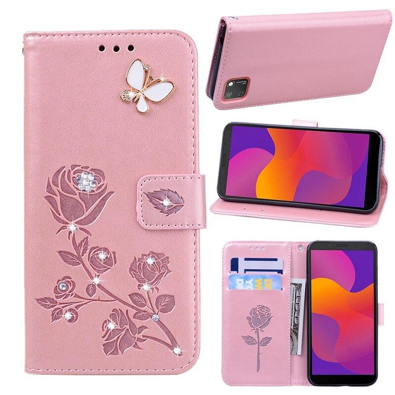 Étui pour téléphone à rabat pour Huawei Honor 9 S 5.45 pouces DUA-LX9 Honor9S 9 S housse en cuir pour Huawei Y5P DRA-LX9 Y5 P