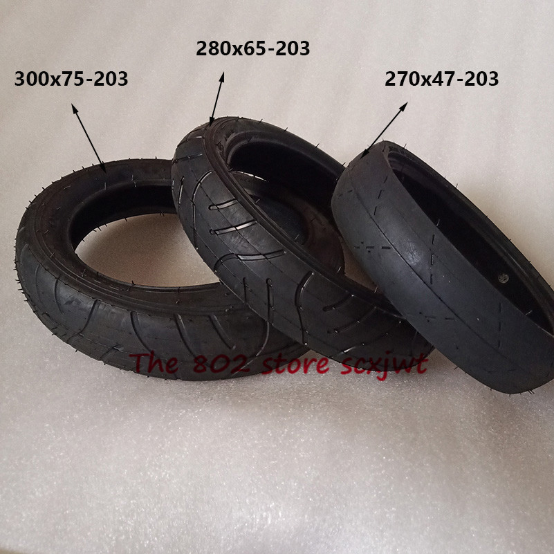 270x47-203 280x65-203 Children's Tricycle Baby Trolley Pneumatic Tire 300X75-203 Tyre and Inner Tube Baby Trolley Accessories