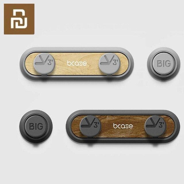Tup2 Cable de datos de madera cruda magnetismo, nuevo, Original, almacenamiento para oficina y hogar, organizador de cables, herramienta de clasificación de línea