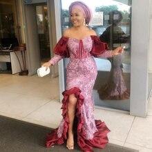 В африканском стиле одежда с длинным рукавом вечернее платье