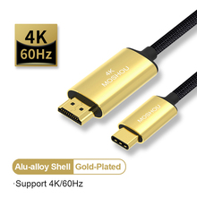 USB C HDMI Cable Type C to HDMI for MacBook Huawei Mate 30 Pro USB-C HDMI Thunderbolt 3 Converter Adapter fsu usb c hdmi cable type c to hdmi thunderbolt 3 converter for macbook huawei mate 30 pro usb c hdmi adapter usb type c hdmi 2m