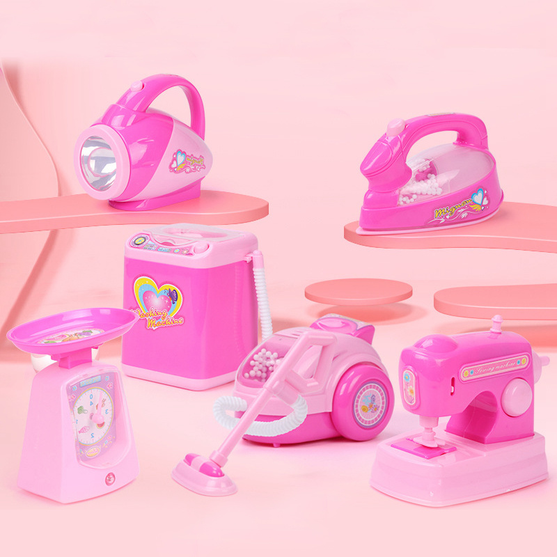 Vacuum Cleaner Toy For Kids Kids Cleaning Toys Pretend Play Children's Simulation Home Appliances Toys Kids Broom Set Playset