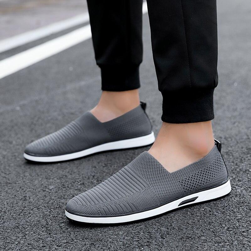 NORTHMARCH/мужские кроссовки из пробковой пробки; Мужские дышащие сетчатые кроссовки без шнуровки; летние Нескользящие кожаные Повседневные Легкие мужские носки|Кроссовки и кеды|   | АлиЭкспресс