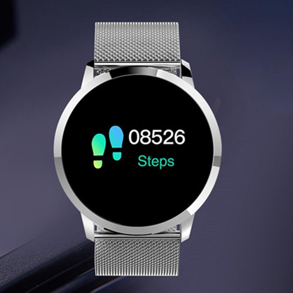 Q8 Bracelet intelligent moniteur de fréquence cardiaque étanche Fitness Tracker Bluetooth Bracelet de montre Q8 pour Android IOS femmes hommes Bracelet