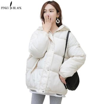 PinkyIsBlack 2020 New Winter Jacket Women Parkas Thicken Outerwear Solid Hooded Coat Short Female Cotton Padded Jacket Basic Top men winter jacket workwear hooded reflective thicken padded cotton clothes wear resistant work safety jacket workshop coat