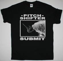 Pitchshifter enviar preto t camisa de metal industrial ministério medo fábrica