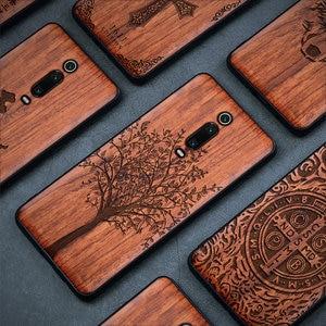 Image 5 - Чехол для Xiaomi mi 9t Boogic Wood funda Redmi k20 Pro Rosewood, ударопрочный ТПУ чехол накладка для телефона Xiaomi Mi 9T Pro, чехол