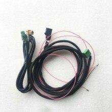 Dla Audi A4 B9 8W MIB 2 CarPlay MDI USB AUX W kabel z wtyczką kable W wiązce