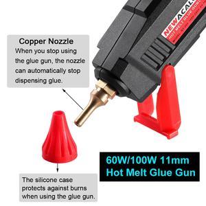 Image 4 - NEWACALOX EU/US 100V~240V 30W/60W/100W Mini Hot Melt Glue Gun with 7m/11mm Glue Sticks for Arts Crafts Home Repair DIY Hand Tool