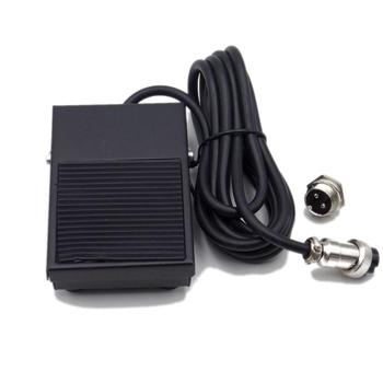 Free Your Hand Tig Torch Burner Spot Welding Metal Foot Pedal Switch Connector Trigger 1.8 Meters GX16 2 or 3 Pin 10A 250V