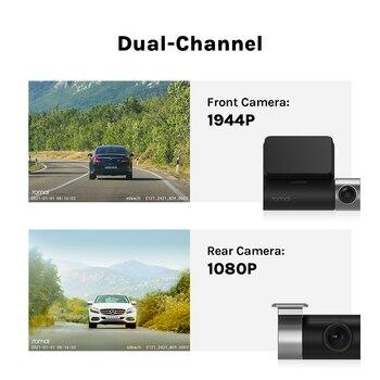 70mai Dash Cam Pro Plus+ A500S 1944P GPS ADAS Car Camera 70mai A500S Car DVR 24H Parking Support Rear Cam 140FOV Auto Recorder 2