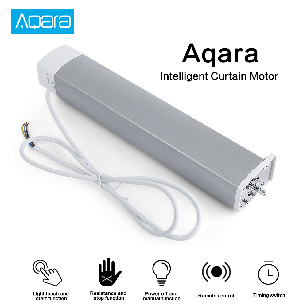 Aqara Curtain Motor With Curtain Controller Zigbee Wifi Work For Smart Home Mi Home APP Automatic Control