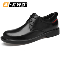 New Fashion Black Ankle Boots Genuine Leather working shoes man Low Top Men's Boots Luxury Men Shoes Formal Leather Sneakers Man