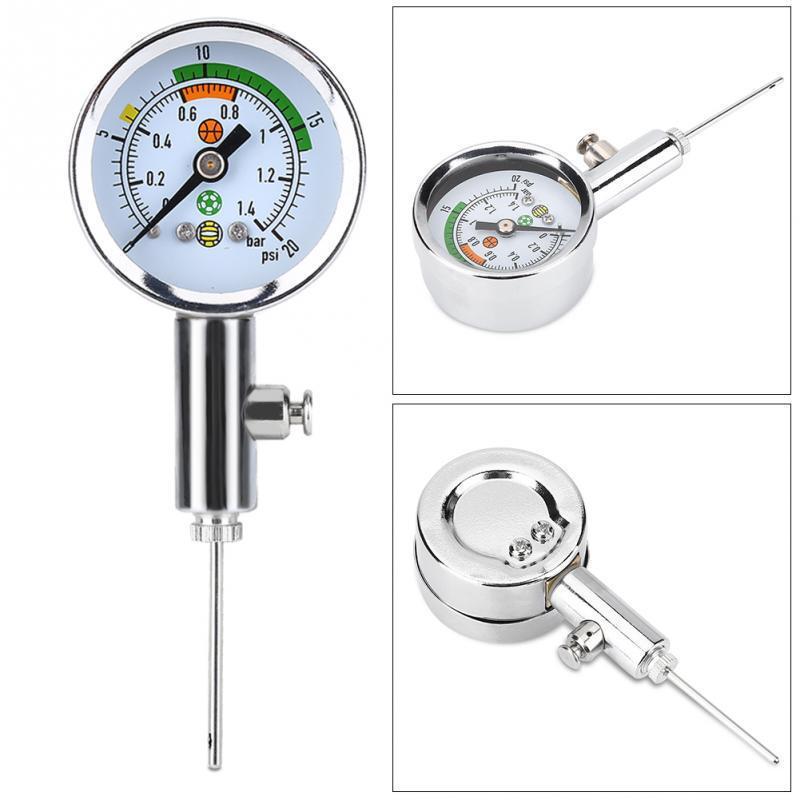 HobbyLane Ball Pressure Meter Basketball Football Volleyball Barometer Tool Air Regulator Pressure Measure Air Pressure Gauge in Soccers from Sports Entertainment
