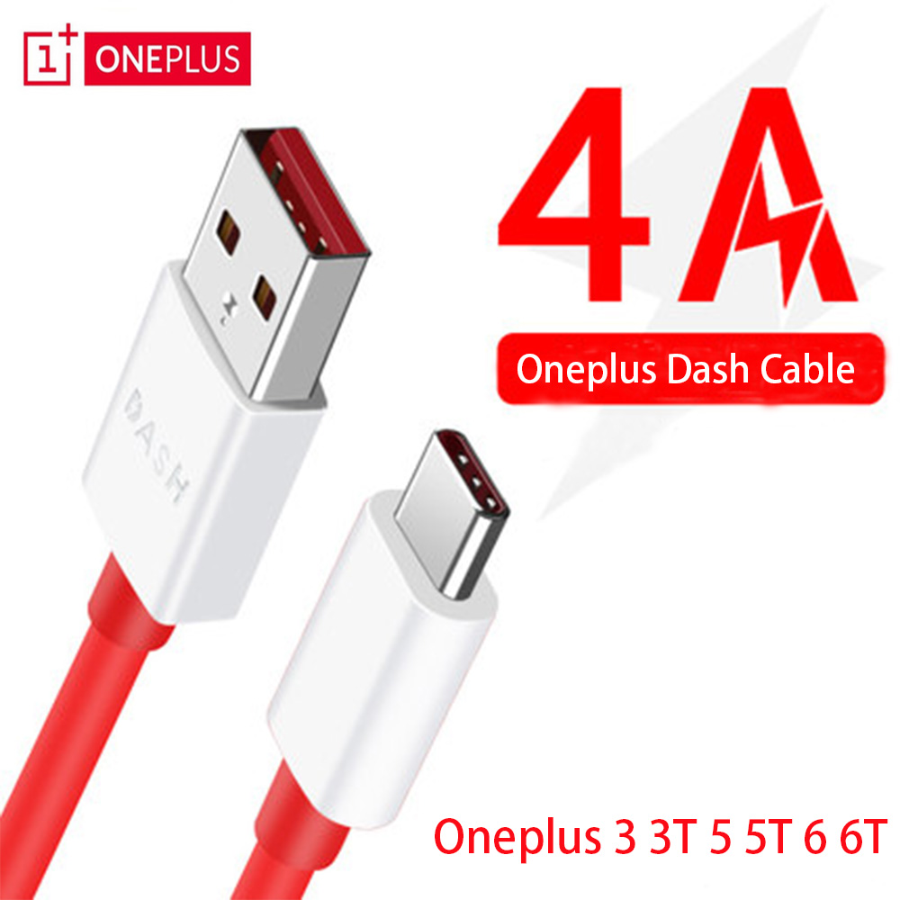 OnePlus 4A 7 Pro Dash Charger Cable Type C Cable For One Plus 6 5T 5 3T 3 Mobile Phone USB 3.1 Data Charge Dash Cable 1m
