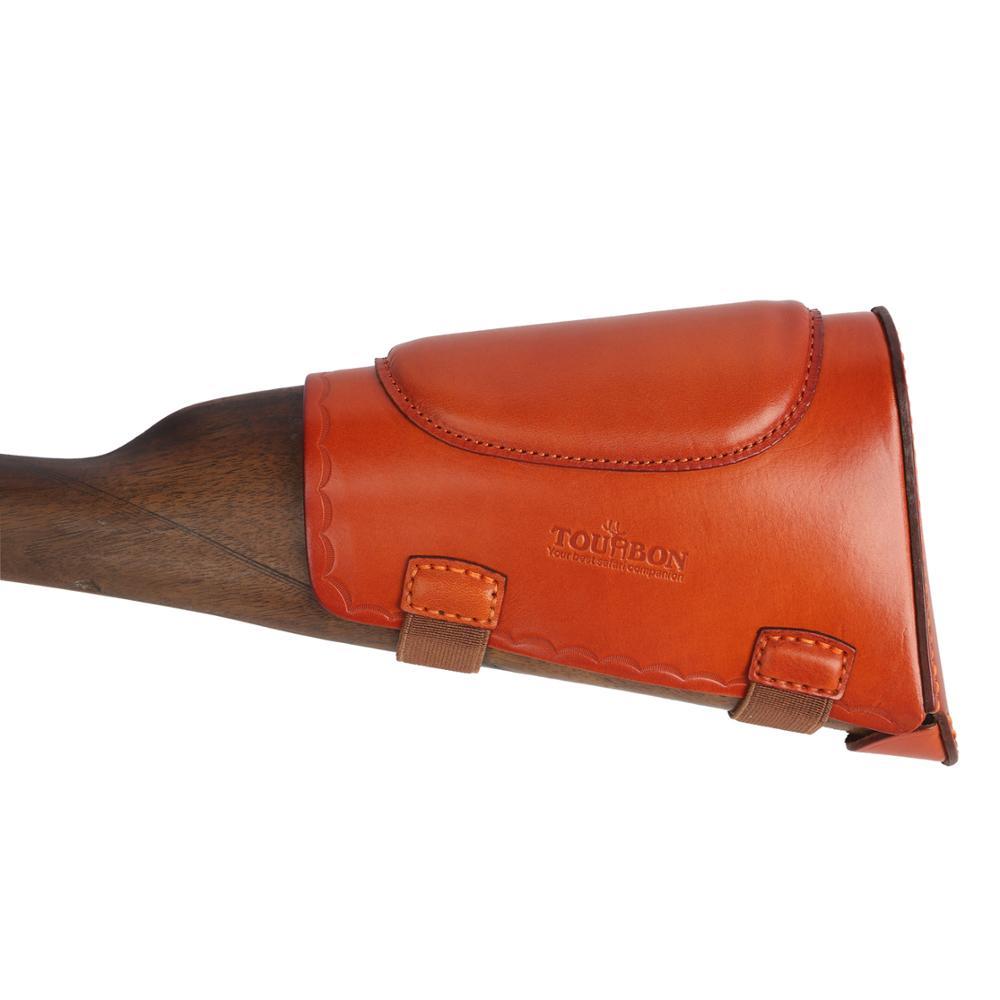 Tourbon Tactical Hunting Rifle Shotgun Firearm Cheek Rest Recoil Pad Buttstock Holder Pouch Slip-on for Shooting Gun Accessories
