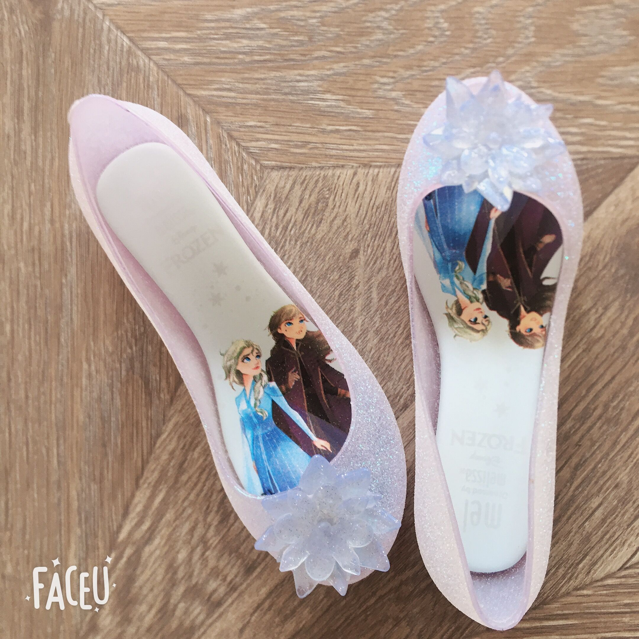 Mini Melissa Princess Elsa Girls Sandals Children Jelly Shoes Kids Little Big Girl Candy Shoes Shinny Ice Crystals Sandals MN023