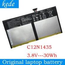 Kede c12n1435 bateria para asus transformador livro t100ha T100HA-FU006T r104ha 10.1-polegada 2 em 1 c12pn9h tablet