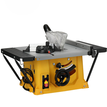 Electric 8 Inches Woodworking Table Saw Floor Cutting Machine Multifunction Miter Cut Panel Flip Home Dust-Free - discount item  29% OFF Woodworking Machinery