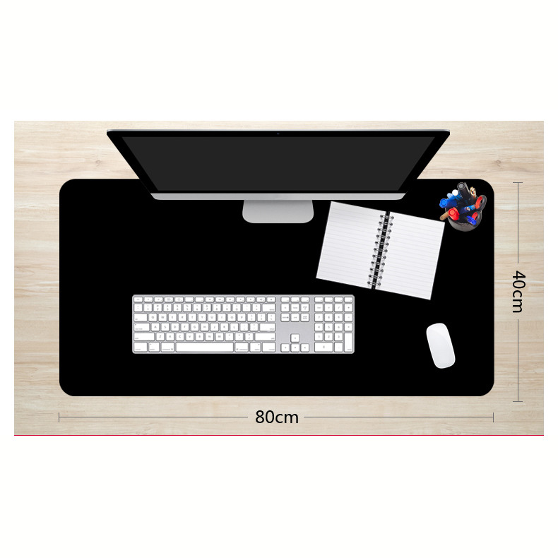 <font><b>900x400</b></font> Large big sizes gaming Mouse pad XXL black mousepad L XL Lock the edge laptop pc game gamer computer Accessory image