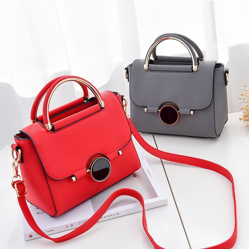 Soft PU Leather Mini Handbag Women Bag Design Woman Messenger Shoulder Crossbody Bags Fashion Classic Large Capacity Tote Bag