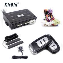 Kirbin Keyless Entry Push Start Systeem, Remote Start Kit Voor Auto, Pke Auto Alarm, start Stop Motor Keyless Entry, Auto Keyless Entry