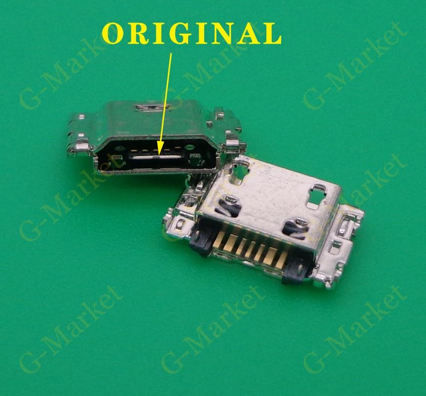 50 шт., 7-контактный разъем Micro USB для зарядки Samsung Galaxy J3 J5 J7 J1 J100 J330 J330F J530 J530F J730 J730F