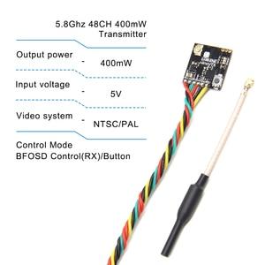 Image 5 - VTX 5,8 GHz 48CH 25/ 100/200/400mW Umschaltbar FPV Sender Unterstützung OSD/Pitmode/IRC tramp