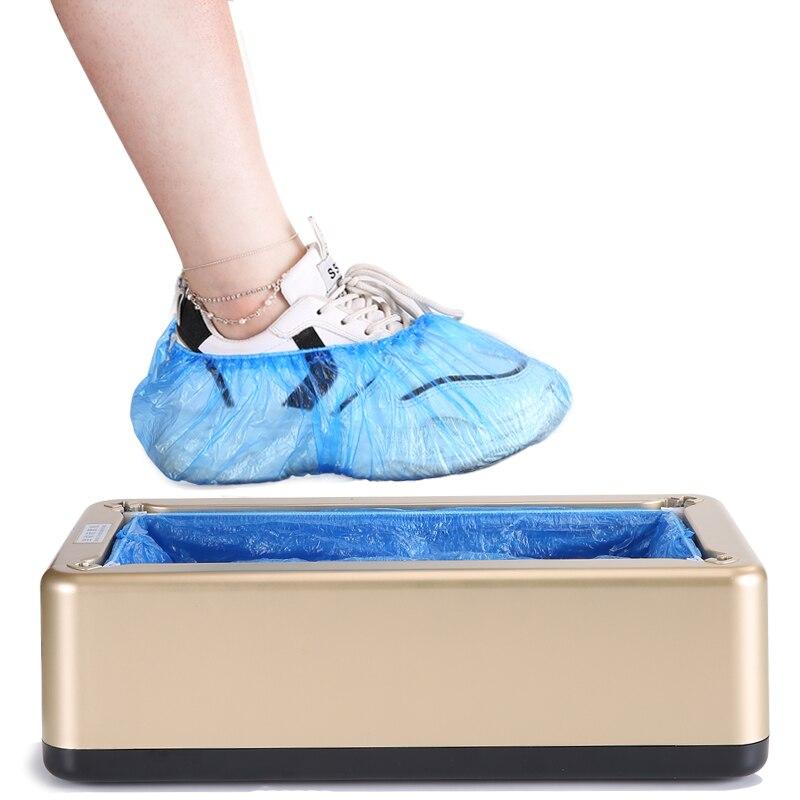Горячая распродажа! Одноразовая пластиковая машина для покрытия обуви автоматическая машина для покрытия туфель для дома и офиса одноразо...