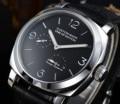 Horloge automatisch uurwerk heren 44MM silver steel case 316L nieuwe met lederen band met lichtgevende pointer 41- 2