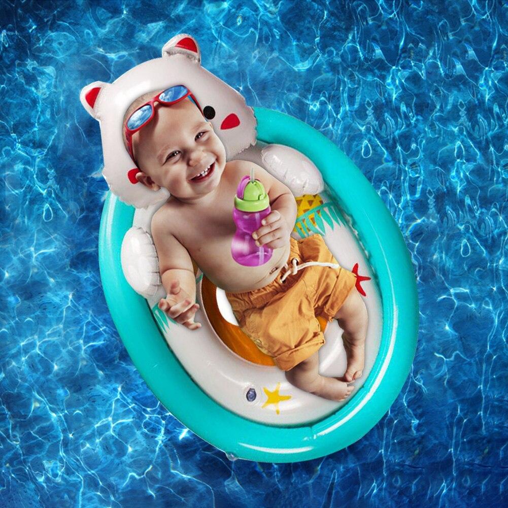 Painstaking Double Airbag Animal Pattern Inflatable Toddler Baby Swim Seat Children Safety Swimming Pool Water Fun Toys Float Circle Ring