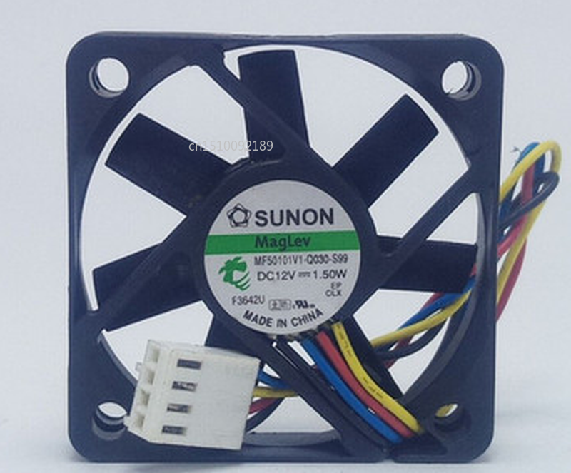 Free Shipping Original MF50101V1-Q030-S99 5010 12V 1.50W 5cm Four-wire PWM Cooling Fan