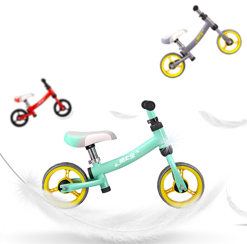 H90764c996445437b9ccf5578a2fc1af9D Montasen Children  Push Bike  for 1.5- 3 Year Old Kids High Carbon Frame Balance Cycle for Boy Girls to Walk  Mini Push Bicycle