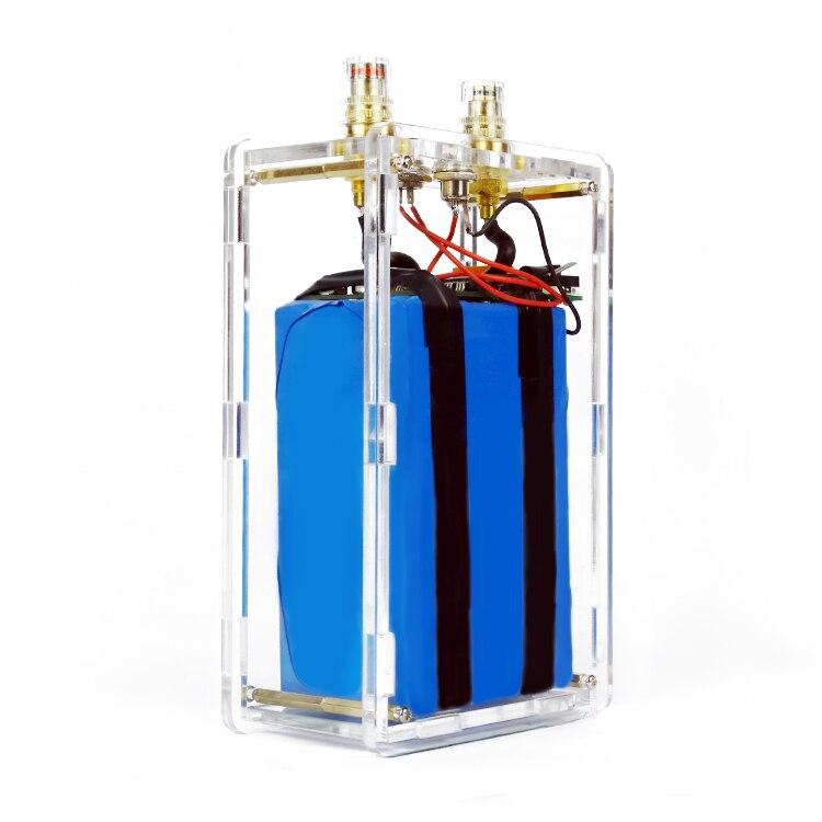 18650 batterie au lithium pack pièces d'assemblage poche petite coquille batterie soudage par points machine bricolage portable ménage soudage